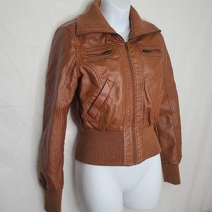 Seductions Vegan Leather Jacket